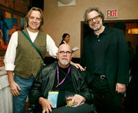 Stephen Hannock, Chuck Close and Clifford Ross at the 2007 Tribeca Film Festival.