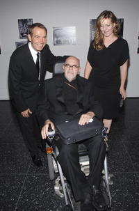 Jeff Koons, Chuck Close and Justine Koons at the MoMA's 39th Annual Party.