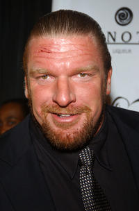 Triple H at the Break! 2004 Celebrity Pool Tournament in New York.