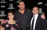 Sarah Furhman, Triple H and Steve Rosenzweig at the First McMahon Million Dollar Mania in New York.