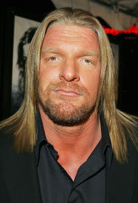 Triple H at the California premiere of