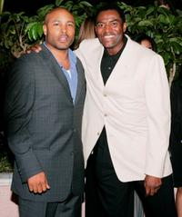 Mathew St. Patrick and Carl Lumbly at the Children's Defense Fund 14th Annual