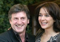 Daniel Auteuil and Valeria Golino at the promotion of