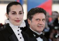 Daniel Auteuil and Amira Casar at the 58th edition of the Cannes International Film Festival.