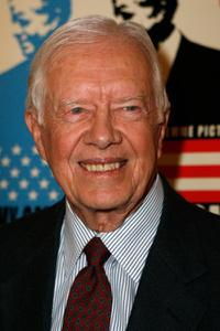 President Jimmy Carter at the premiere of