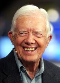 President Jimmy Carter at the Democratic National Convention.
