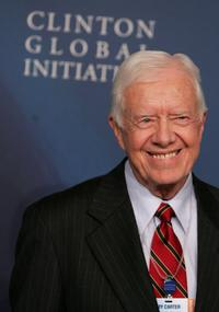 President Jimmy Carter at the opening night reception of
