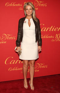Cornelia Guest at the Cartier 100th Anniversary in America Celebration in New York.