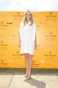 Cornelia Guest at the 2009 Veuve Clicquot Manhattan Polo Classic in New York.
