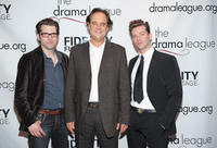 Rob Lyons, Lance Guest and Levi Kreis at the 76th Annual Drama League Awards Ceremony and Luncheon in New York.