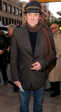 Lance Guest at the Broadway opening night of