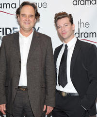 Lance Guest and Levi Kreis at the 76th Annual Drama League Awards Ceremony and Luncheon in New York.