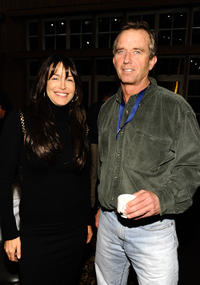 Mary Fanaro and Robert F. Kennedy Jr. at the Day 1 of 19th Annual Deer Valley Celebrity Skifest.