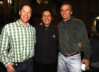 Skier Tommy Moe, Juma Entertainment's Bob Horowitz and Robert F. Kennedy Jr. at the Day 1 of 19th Annual Deer Valley Celebrity Skifest.
