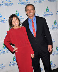 Kick Kennedy and Robert F. Kennedy Jr. at the 2011 Riverkeeper Fishermen's Ball in New York.