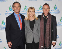 Robert F. Kennedy Jr., Trudie Styler and singer/musician Sting at the 2011 Riverkeeper Fishermen's Ball in New York.