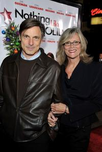 Nicholas Guest and Pamela Guest at the premiere of