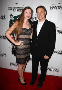 Elizabeth and Nicholas Guest at the opening night of