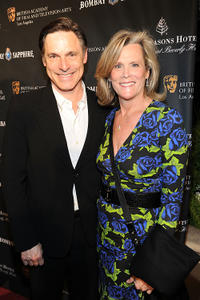 Nicholas Guest and Pamela Guest at the BAFTA Los Angeles Awards Season Tea in Association with The Four Seasons and Bombay Sapphire.