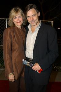 Nicholas Guest and his wife Pamela at the premiere of