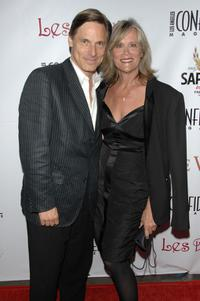 Nicholas Guest and his wife Pamela at the Los Angeles Confidential Magazine's Pre-Emmy Party.