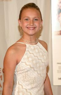 Skye McCole Bartusiak at the screening of