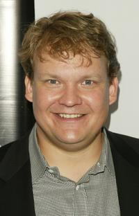 Andy Richter at the after party of Fox primetime program announcements for 2004-2005.