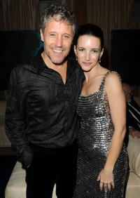 Max Ryan and Kristin Davis at the after party of the premiere of