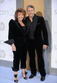 Lynette Ryan and Max Ryan at the premiere of