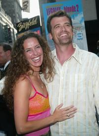 Stephanie and her husband Bruce Thomas at the premiere of