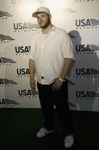 Daniel Franzese at the US Open opening night party.