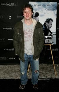 Tom Guiry at the premiere of
