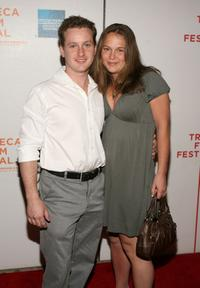 Tom Guiry and Guest at the premiere of