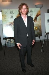 A.D. Miles at the premiere of