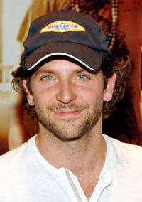 Bradley Cooper at the charity poker tournament at Caesars Palace.