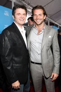 John Michael Higgins and Bradley Cooper at the premiere of