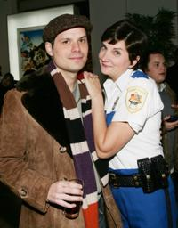 Michael Ian Black and Kerri Kenney-Silver at the special screening of