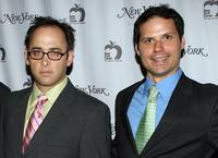 David Wain and Michael Ian Black at the New York Magazine's 40th Anniversary event.
