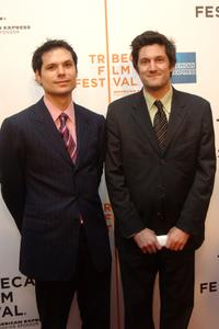 Michael Ian Black and Michael Showalter at the Tribeca Film Festival Awards Show.