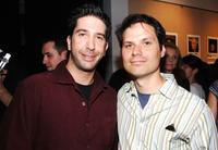 Director David Schwimmer and Michael Ian Black at the special screening of