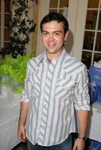 Joe Lo Truglio at the Frederic Fekkai Pre-Emmy Style 2006 Garden Party gift bag suite.