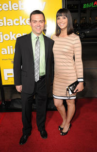 Joe Lo Truglio and Beth Dover at the California premiere of
