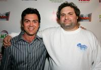 Joe Lo Truglio and Artie Lange at the premiere of