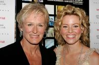 Glenn Close and Elizabeth Banks at the premiere of