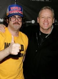 Judah Friedlander and Finn Taylor at the 2006 Sundance Film Festival.