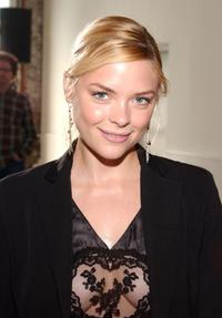 Jaime King at the Behnaz Sarafpour 2006 fashion show during the Olympus Fashion Week.