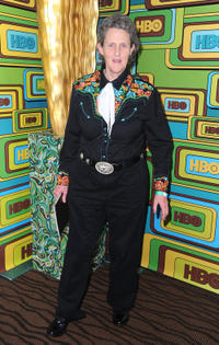 Temple Grandin at the HBO's Post 2011 Golden Globe Awards party.