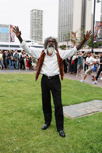 David Gulpilil at the press conference for the world premiere of