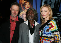 Director Rolf de Heer, David Gulpilil and Cate Blanchett at the