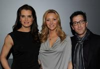Brooke Shields, Lisa Kudrow and Dan Bucatinsky at the promotion of